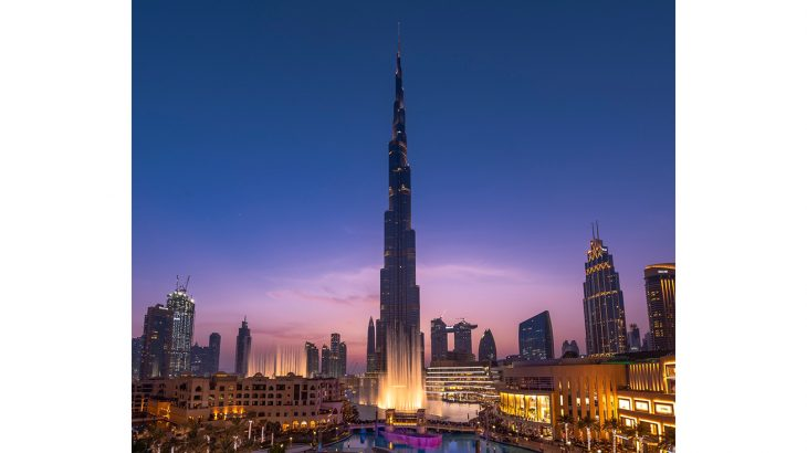 The Dubai Fountain by Emaar