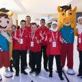 الفريق الأوليمبي الأردني يصل إلى للأوليمباد الخاصة MENA Games 2018