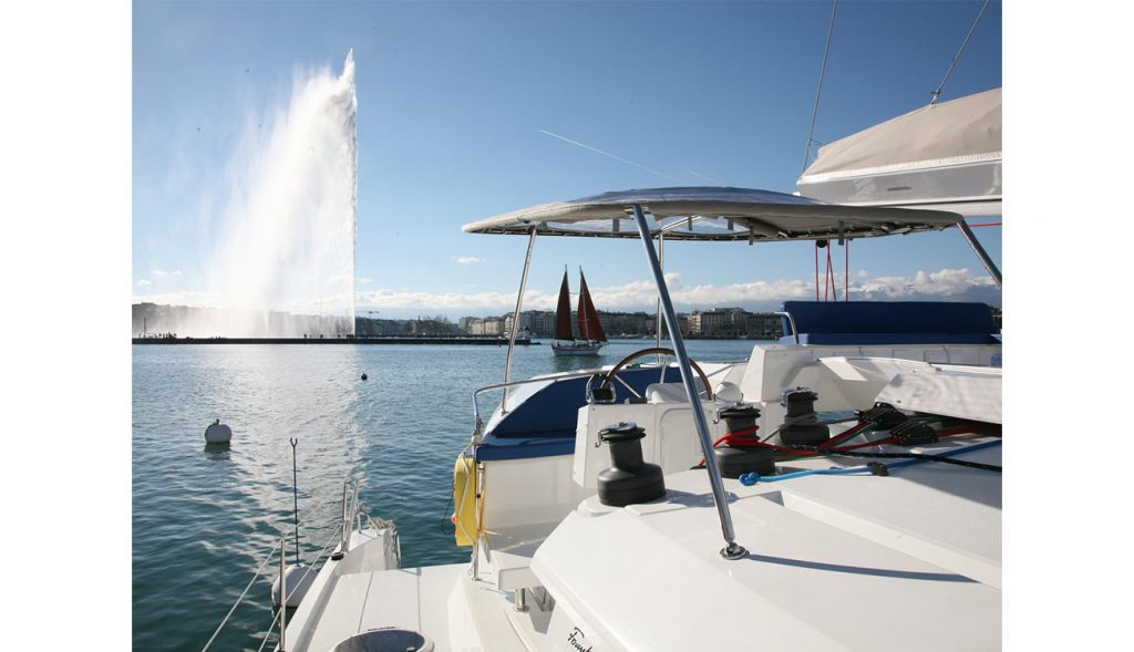 Luxury Boat Geneva