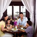 Families have plenty of dining options at hotels