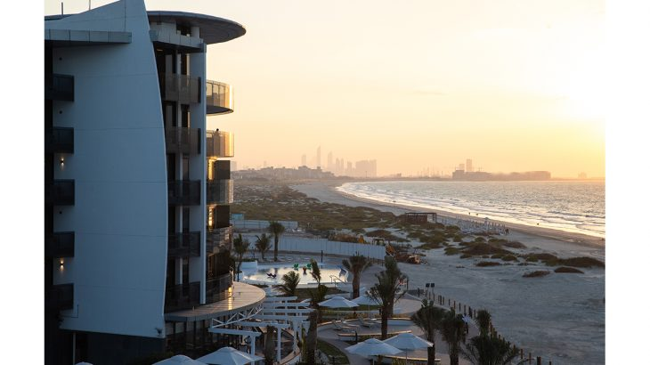 Jumeirah at Saadiyat Island Resort - Beach view