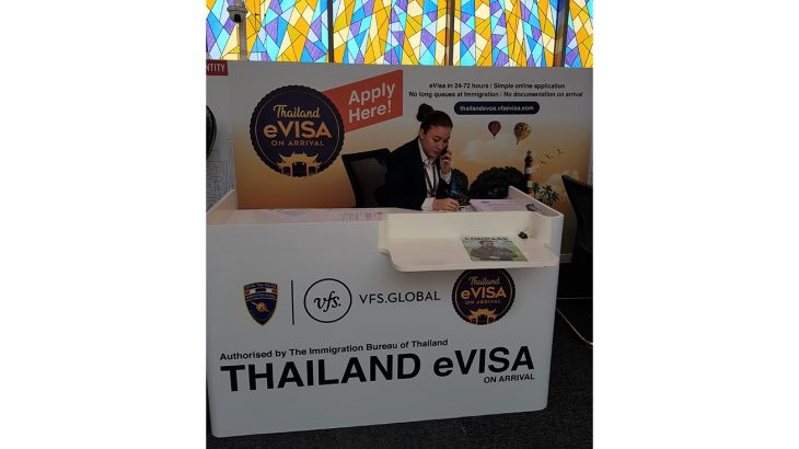 Thai eVisa On Arrival