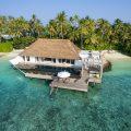 2.2 2bedroom lagoon garden villa - aerial view - S