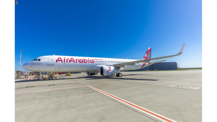 Air Arabia receives the second A321 aircraft