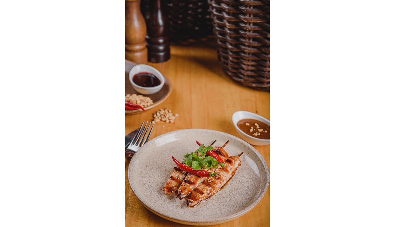 SOCIAL HOUSE - Chicken Satay