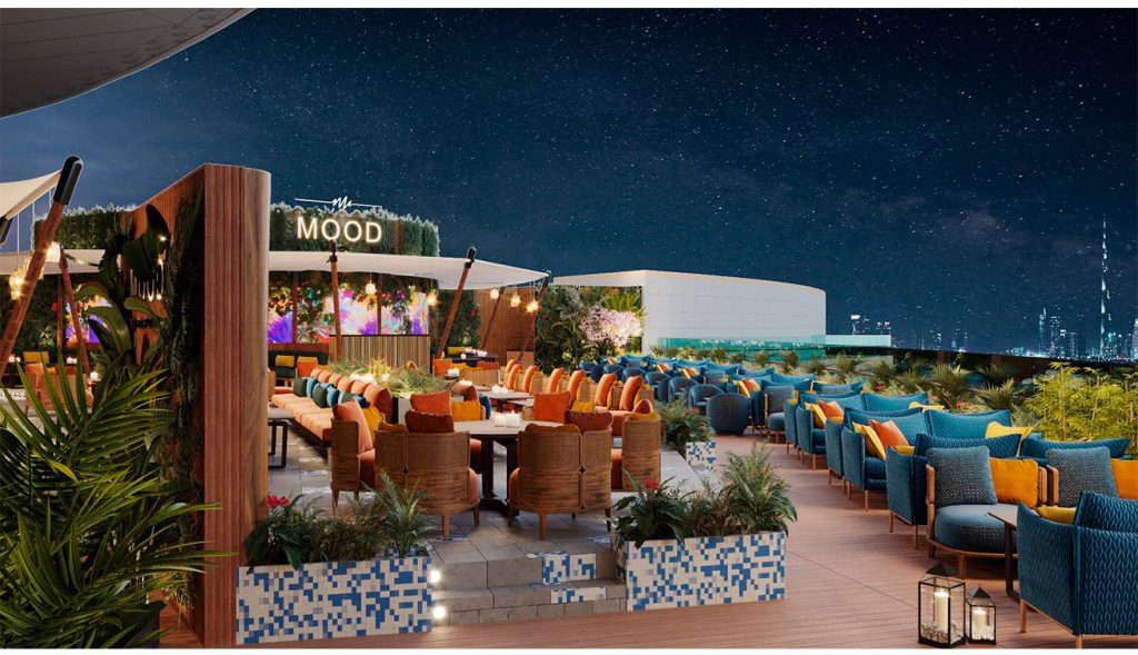 لاونج Mood Rooftop Lounge