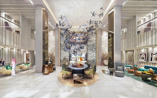 Andaz-Dubai-The-Palm-Lobby