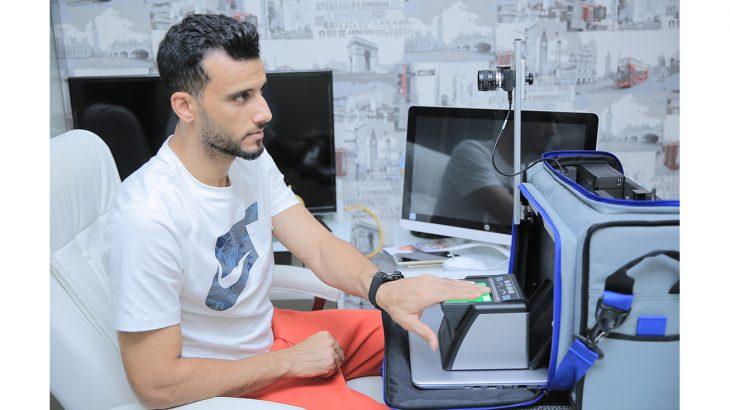 Omar Al Souma using Your Doorstep service