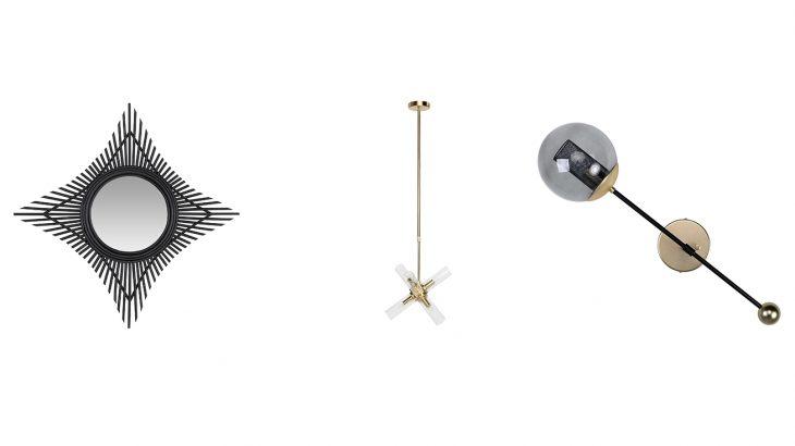 Orbit Wall Lamp & Piper Lamp & Rattan Star