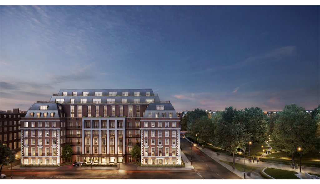 Twenty Grosvenor Square, the world's first standalone Four Seasons Private Residences