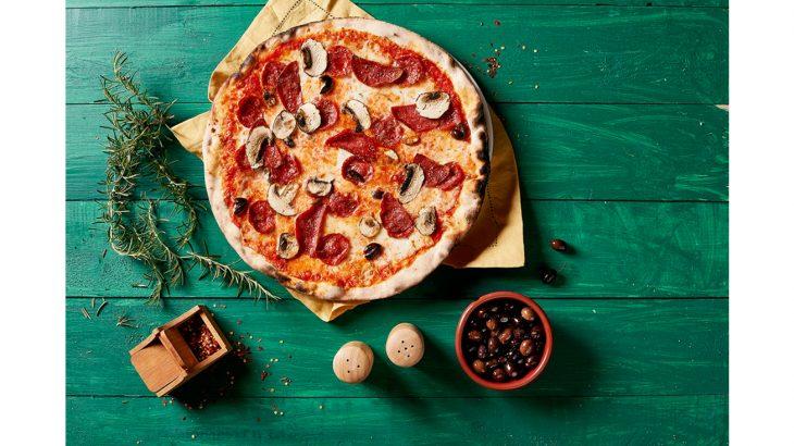 عرض 800 بيتزا العائلي