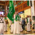 عروض ثقافية وتراثية سعودية في المركز التجاري العالمي أبوظبي
