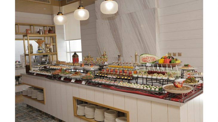 THE S HOTEL_SALAD AND DESSERT DISPLAY