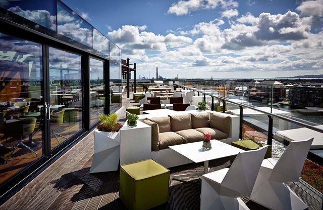 The Marker Hotel_Dublin_Rooftop Bar & Terrace
