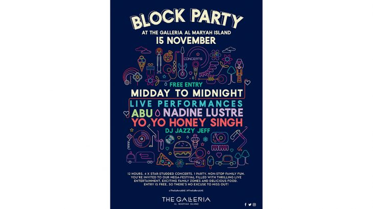 Block Party Creative English