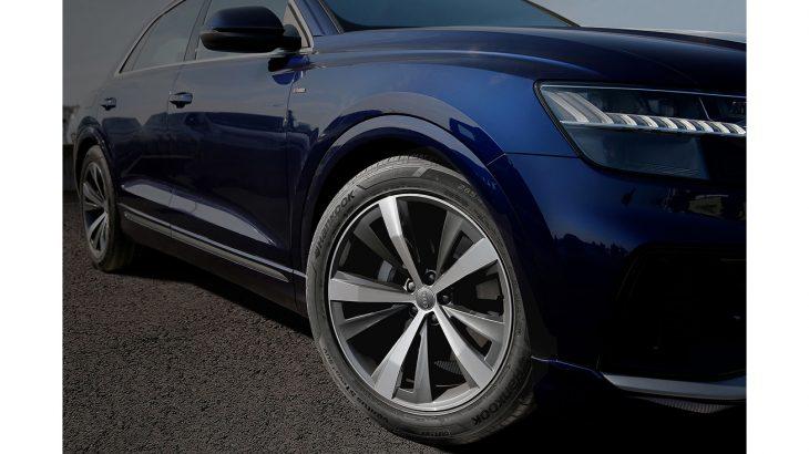 [Photo] Hankook Tire as original equipment on Audi's Q8 model series