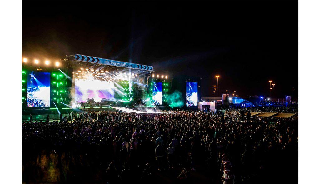 Thousands enjoy 2018 SAUDIA Ad Diriyah E-Prix - Concerts (3)