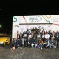 صورة جماعية للفائزين بالجولة الثالثة