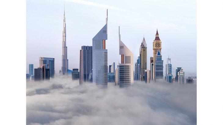 Jumeirah Emirates Towers - Exterior - Clouds