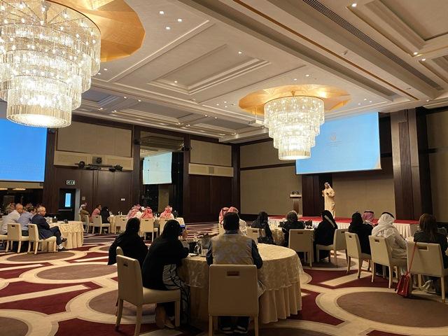 جهة من الورشة الإعلامية لدائرة الثقافة والسياحة - أبوظبي في جدة
