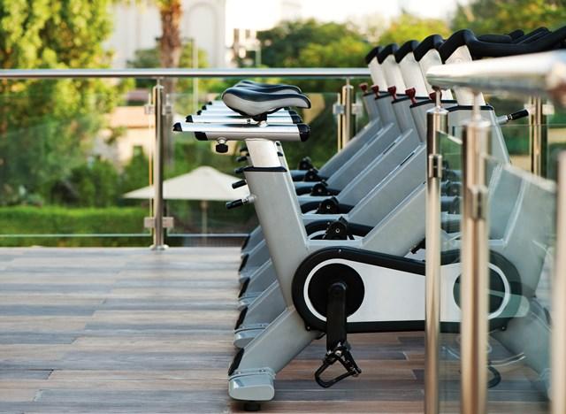Natural Elements Fitness Centre at Le Méridien Dubai