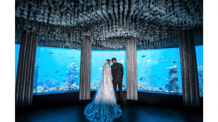 Niyama Private Islands Maldives -Underwater Wedding at Subsix Restaurant