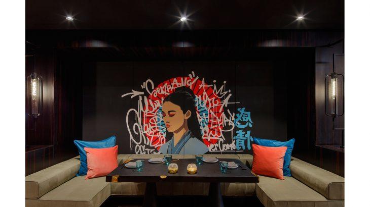 مطعم هانامي في فندق أنداز دبي