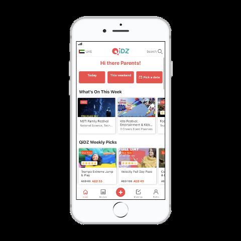 QiDZ mobile app