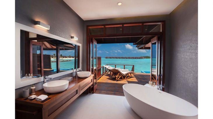 Water Villa with Pool_Bathroom View_VARU by Atmosphere