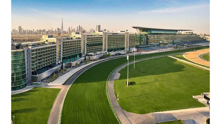 Meydan Hotel - Exterior Aerial View (1)