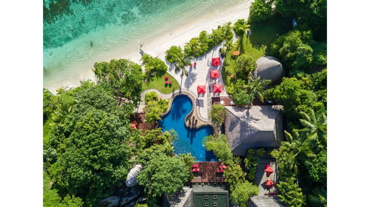 Maia Luxury Resort & Spa - Aerial View
