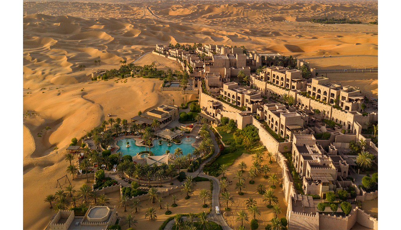 Qasr Al Sarab Desert Resort by Anantara - Aerial view