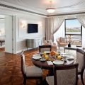 Grand Suite - Living and Dining area - with creek view