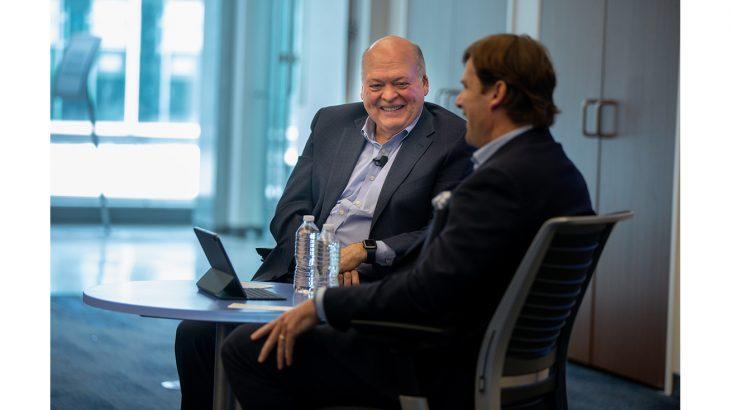 Image 1 - Jim Hackett and Jim Farley