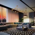seven-palm-living-room-at-night